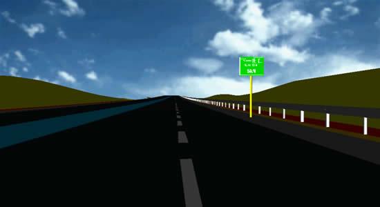 道路与桥梁三维建模系统(以下称:3DROAD)是EICAD(集成交互式道路与立交设计CAD软件包)中的一个组成部分。道路设计人员在完成公路平、纵、横断面设计之后,可以在3DROAD软件的帮助下,快速建立公路、桥梁以及交通工程设施的三维模型,并可以从任意角度观察、显示设计成果。使用三维透视图自动生成命令,还可以将驾驶员视景透视图打印输出,作为设计图纸出版。 通过菜单、工具栏按钮或命令行,你可以像使用AutoCAD命令一样,使用3DROAD提供的这些函数命令。在对话框的提示下完成一些设置,即可以得到专业级的